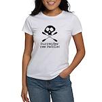 Kayaking Pirate Women's T-Shirt