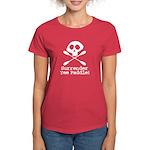 Kayaking Pirate Women's Dark T-Shirt