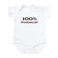 100 Percent Pharmacist Infant Bodysuit