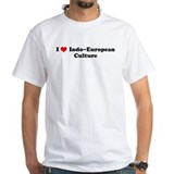 I Love Indo-European Culture Shirt