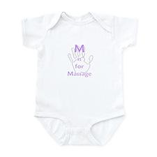 M is for Massage Infant Bodysuit