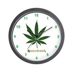 4:20 Wall Clock with AIYH Logo
