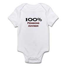 100 Percent Pensions Adviser Infant Bodysuit