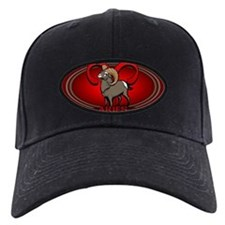Aries Black Baseball Cap Astrology Aries Cap
