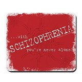 Mouse Pads O'Happiness Schizophrenia