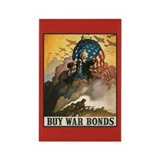 War Bonds Rectangle Magnet (10 pack)