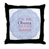 I'm an Obama Grandmama Throw Pillow