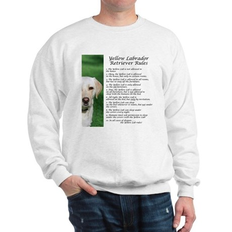 Yellow Lab Rules Sweatshirt
