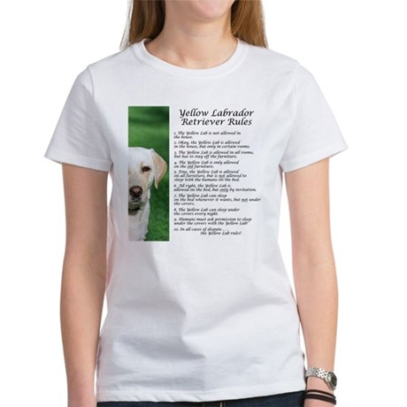 Yellow Lab Rules Women's T-Shirt
