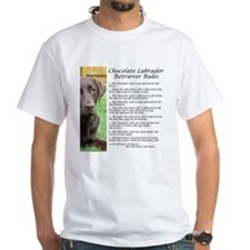 Chocolate Lab Rules Shirt