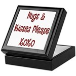 Hugs and Kisses Keepsake Box