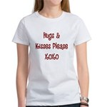 Hugs and Kisses Women's T-Shirt