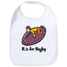 R is for Rugby Bib