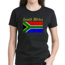South African distressed Flag Tee