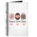 Peace Love Shop Shopping Journal