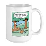 Tree Rings Age Large Mug