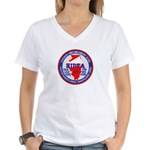 Chicago HIDTA Women's V-Neck T-Shirt