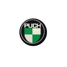 Black Puch Mini Button