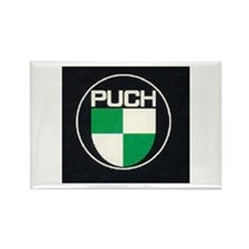 Black Puch Rectangle Magnet (10 pack)
