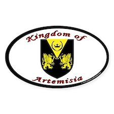 Kingdom of Artemisia Oval Decal