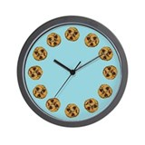 Chocolate Chip Cookie Wall Clock