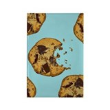 Chocolate Chip Cookie Rectangle Magnet