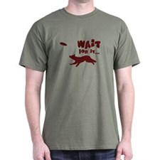 Border Collie Disc T-Shirt