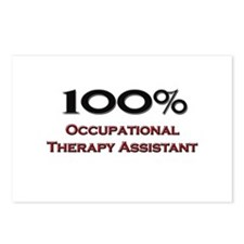 100 Percent Occupational Therapy Assistant Postcar