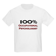 100 Percent Occupational Psychologist Kids Light T
