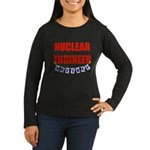 Retired Nuclear Engineer Women's Long Sleeve Dark