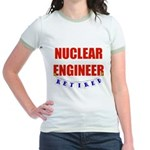 Retired Nuclear Engineer Jr. Ringer T-Shirt