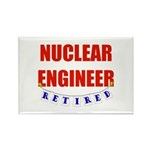 Retired Nuclear Engineer Rectangle Magnet (10 pack