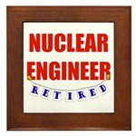 Retired Nuclear Engineer Framed Tile