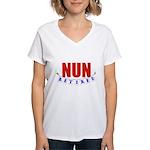 Retired Nun Women's V-Neck T-Shirt