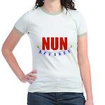 Retired Nun Jr. Ringer T-Shirt