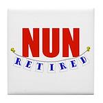 Retired Nun Tile Coaster