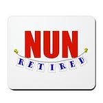Retired Nun Mousepad