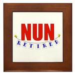 Retired Nun Framed Tile
