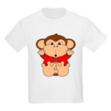 Three Year Old Monkey T-Shirt