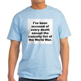 Ive been accused of every death except the casualt T-Shirt
