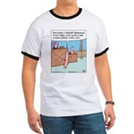 Grill Hotdog Courtroom Ringer T