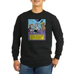 Bad Luck Mirror Long Sleeve Dark T-Shirt