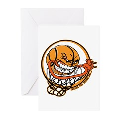 Insane for Basketball Greeting Cards (Pk of 20)