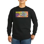 Parent's Brain Long Sleeve Dark T-Shirt