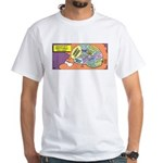 Parent's Brain White T-Shirt
