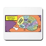 Parent's Brain Mousepad