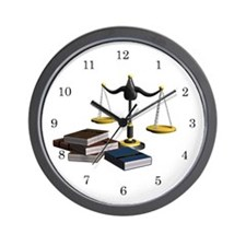 Paralegal Wall Clock