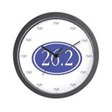 Marathon Runner's Reminder Wall Clock