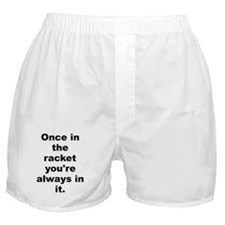 Capone quote Boxer Shorts