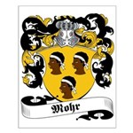 Mohr Family Crest Small Poster